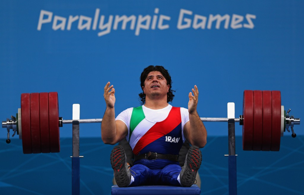 Iran's Farzin breaks world record at IPC Powerlifting World Cup