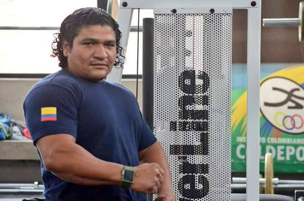 Jainer Cantillo booked his place in the Online World Cup Finals having finished second in the men's competitions ©World Para Powerlifting
