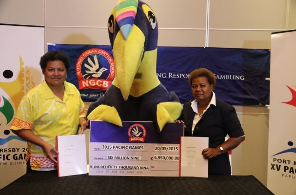 Port Moresby 2015 add National Gaming Control Board to list of platinum sponsors