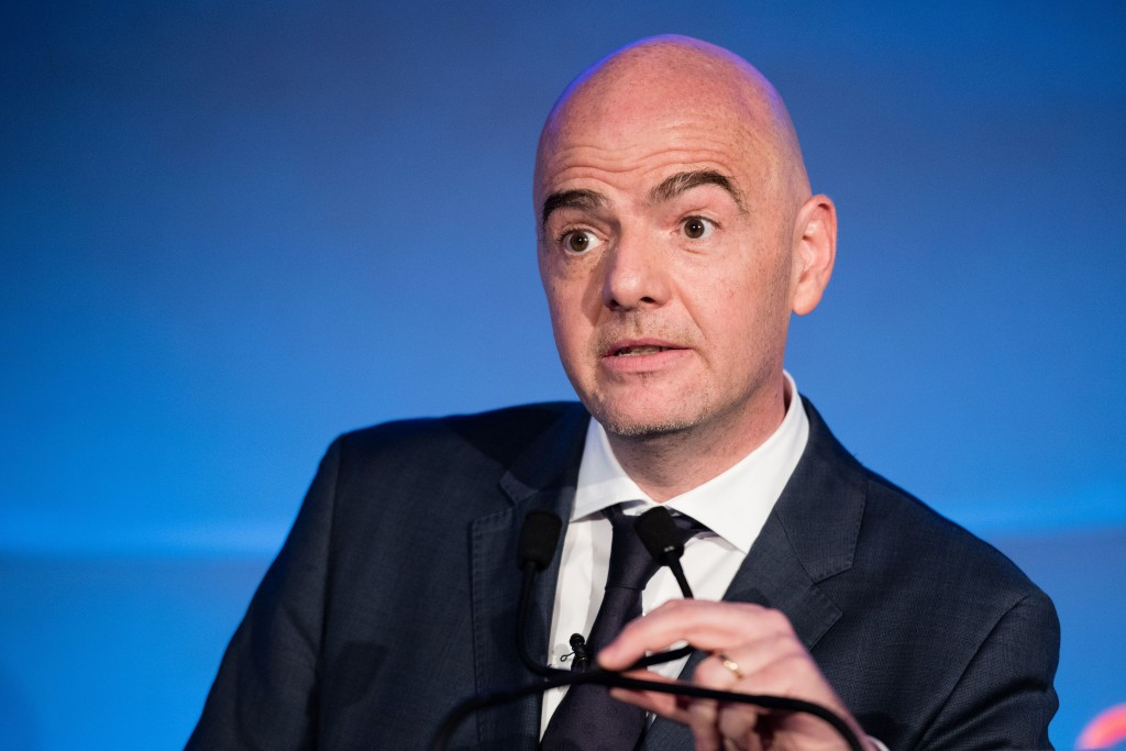 Infantino lobbies for Asian backing after support from five further European member associations