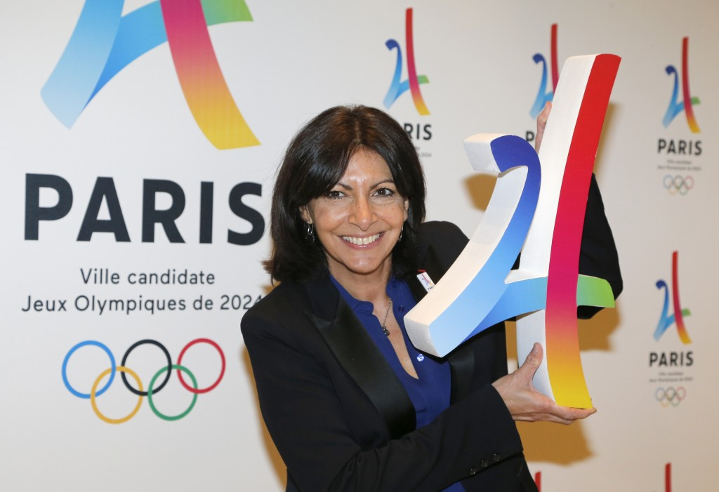 Paris Mayor Anne Hidalgo is due to attend the SportAccord Convention ©Paris 2024