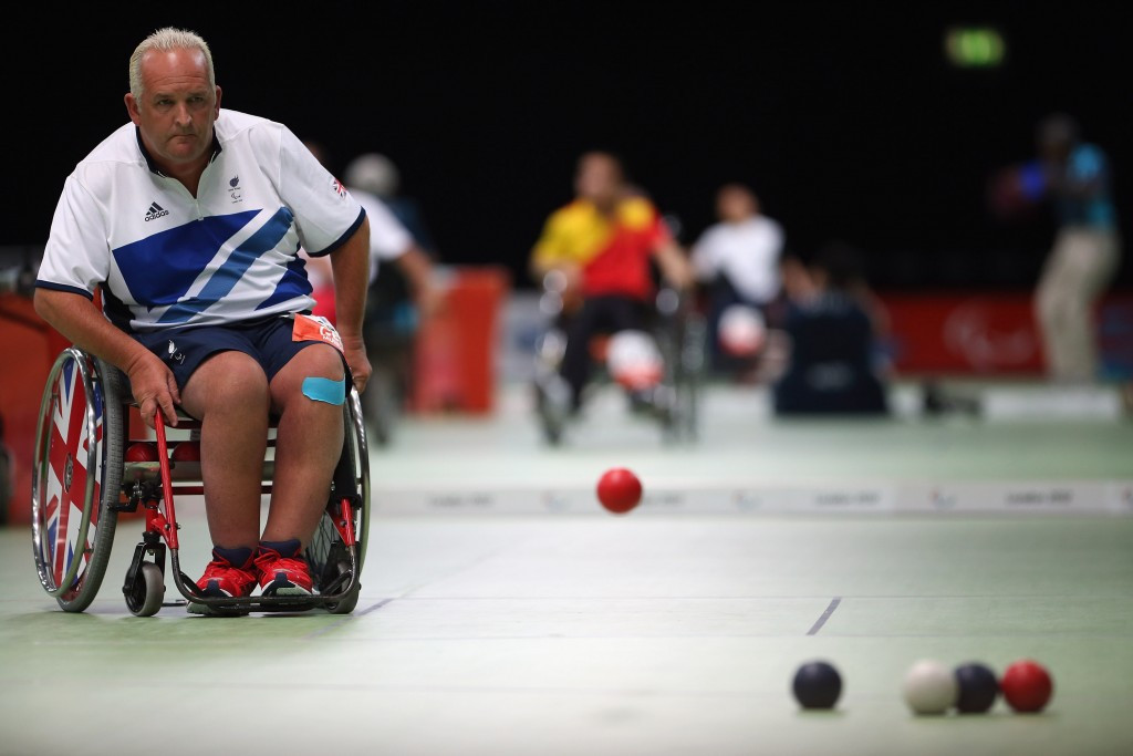 Double Paralympic champion Nigel Murray will also take his place in Beijing