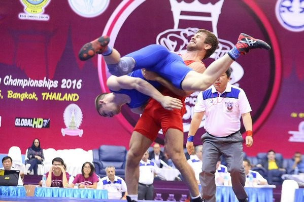 Byabangard strikes gold for Iran as Rio 2016 build-up continues at Asian Championships