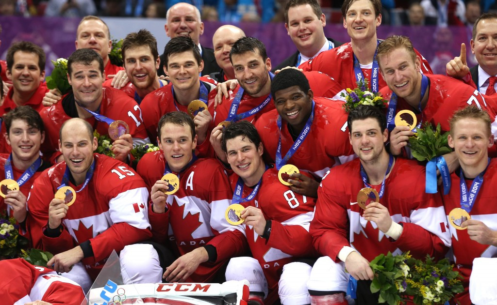 A Canadian side packed with NHL players claimed gold at Sochi 2014 ©Getty Images