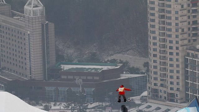 New Pyeongchang 2018 slopestyle course christened by FIS World Cup leader