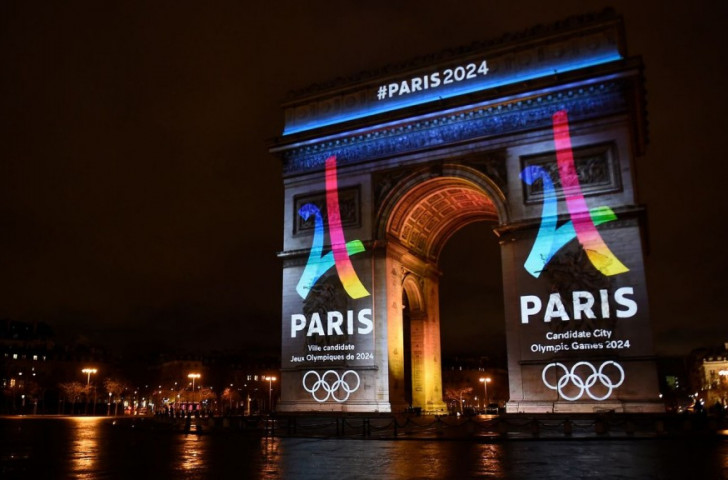 Under the Olympic Law about to be adopted by Paris 2024, official sponsors will be able to display their images on listed buildings hosting Games events ©Getty Images