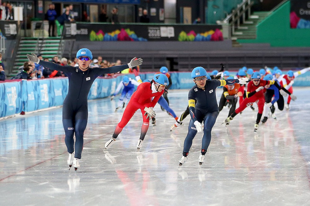 South Korea continue speed skating dominance with double gold at Lillehammer 2016