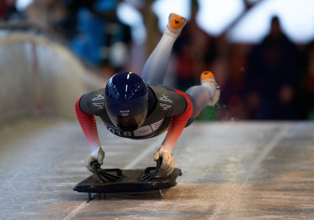"German-born Briton beats ""best friend"" to skeleton gold at Lillehammer 2016"