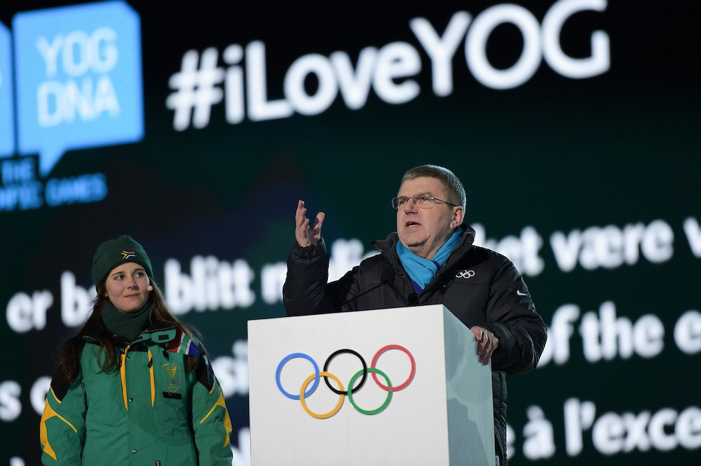 IOC President Thomas Bach has declared his support for the competition-orientated YOG ©Getty Images