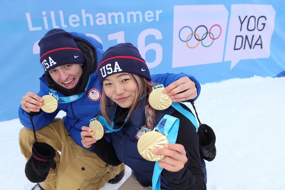 Home gold but US snowboarders still on top on day of slopestyle finals at Lillehammer 2016