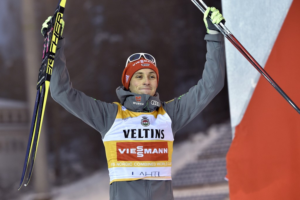 Norwegian gifts formidable Frenzel victory at FIS Nordic Combined World Cup