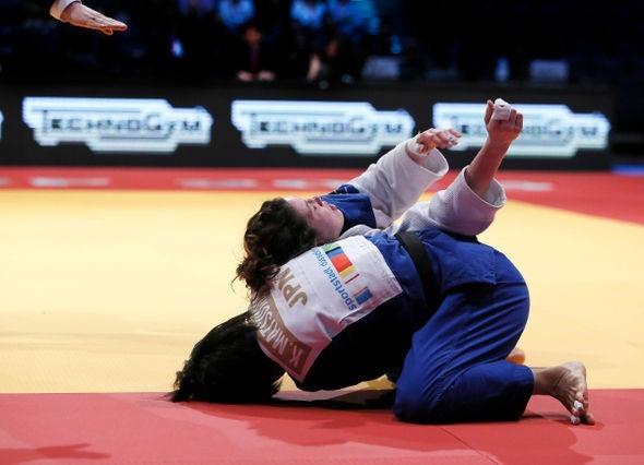 Olympic and world champion Kaori Matsumoto got her season off to a winning start ©IJF