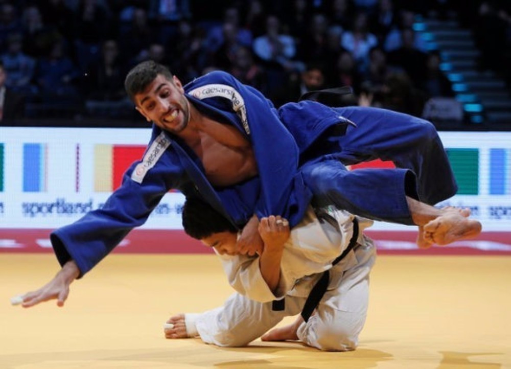 World Champion Baul An claimed one of three gold medals for South Korea