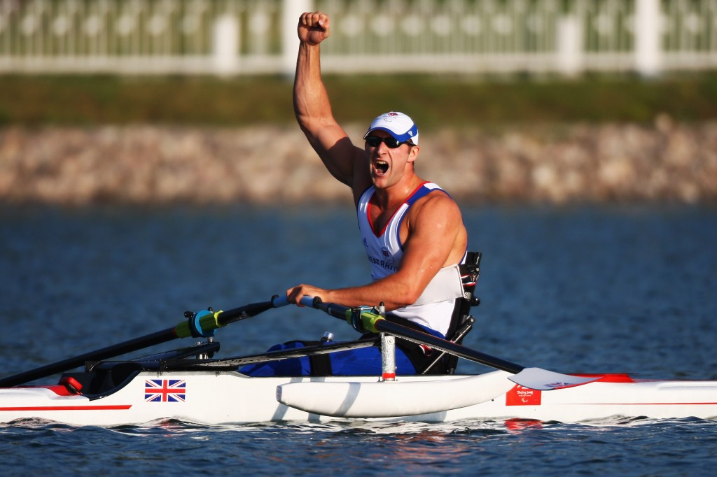 Tom Aggar has become the first Para-rower to be nominated ©Getty Images
