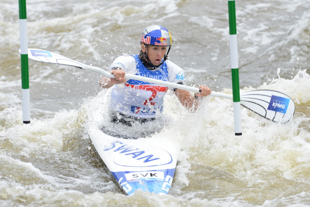 Slovakians lead European domination at Canoe Slalom Oceania Championships but Australians clinch Rio 2016 spots