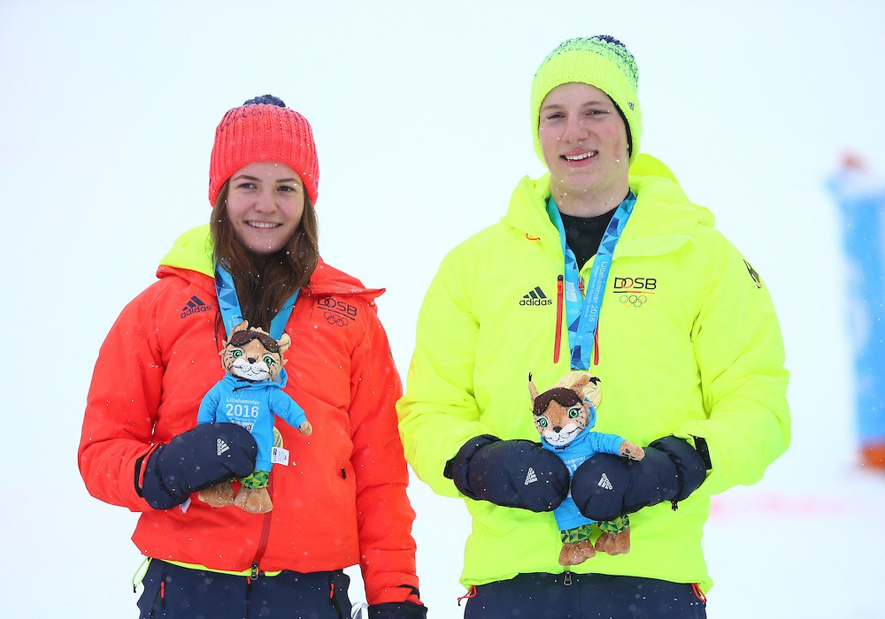 Germany overcome Russia in parallel mixed team final to secure last Alpine skiing gold at Lillehammer 2016