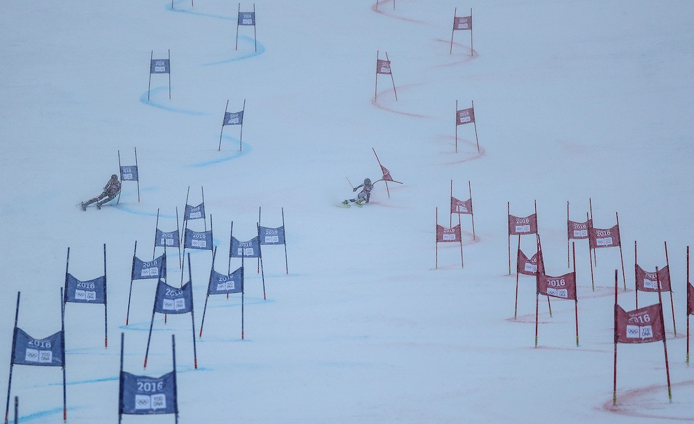 The parallel mixed team slalom event brought Alpine skiing action at Lillehammer 2016 to a close