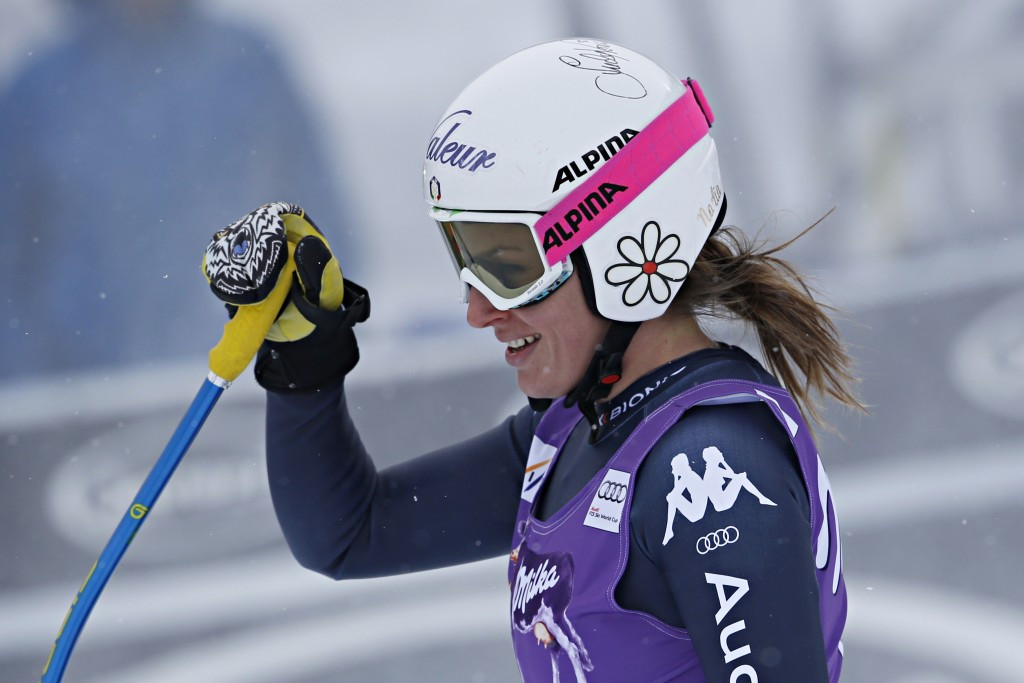 Nadia Fanchini earned her first World Cup win since 2008