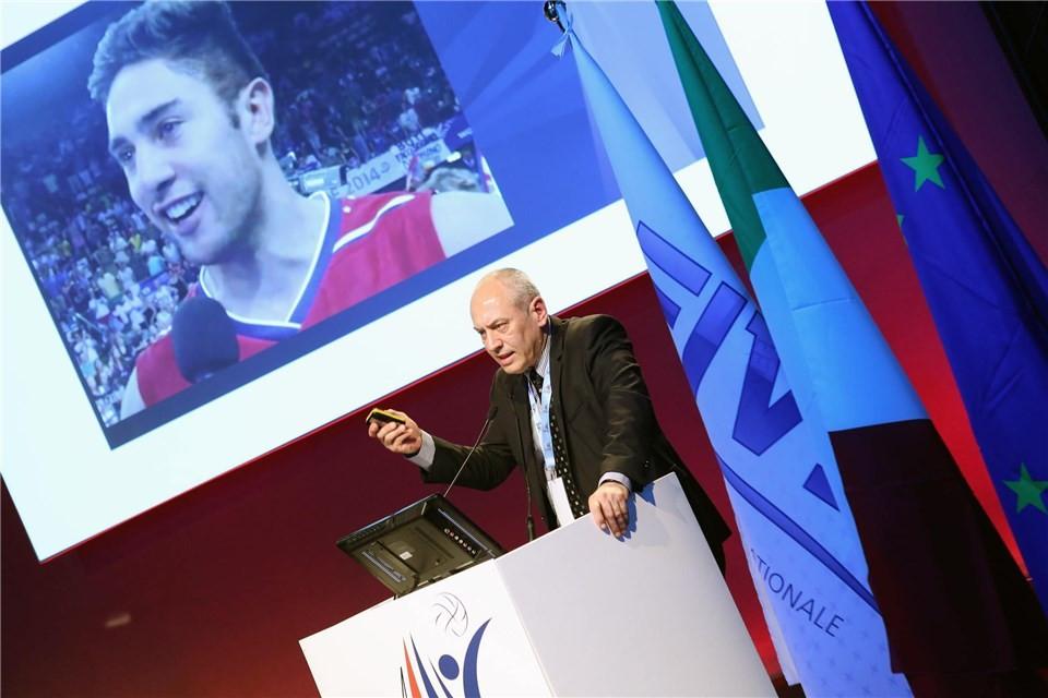 FIVB secretary general Fernando Lima has said Iran will