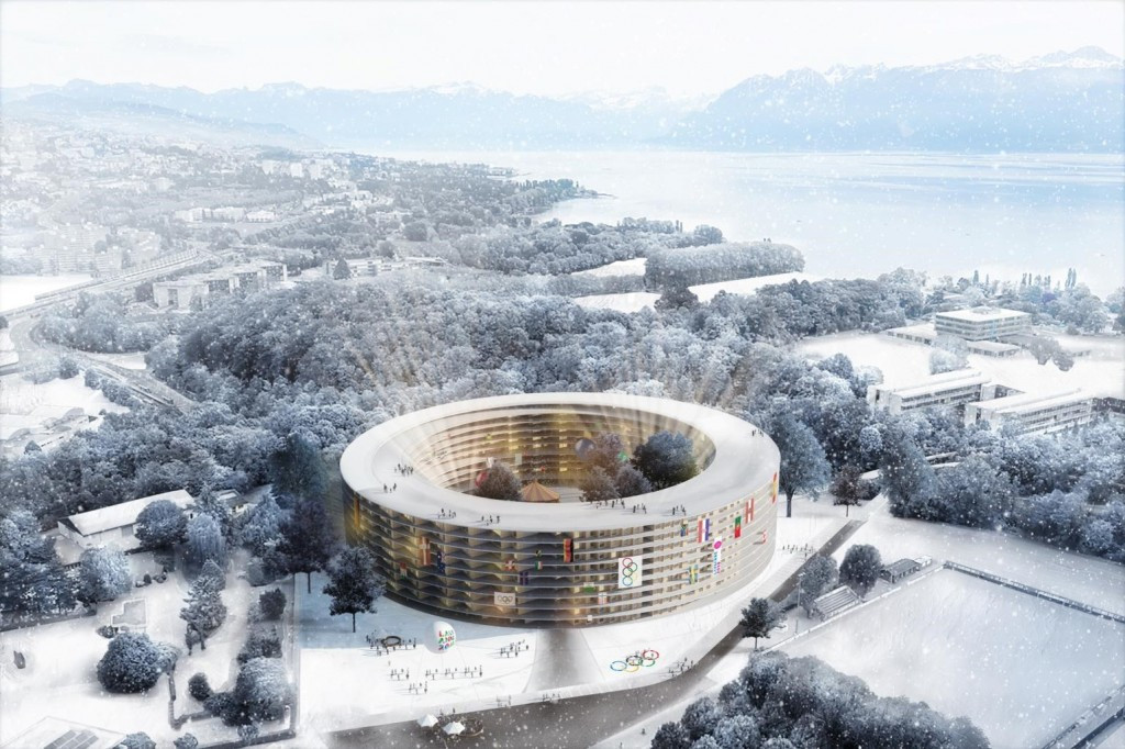 The Athletes' Village at Lausanne 2020 was chosen last year and would have been built irrespective of whether the Swiss city was successful in its bid