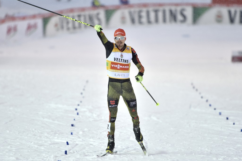 Rießle makes it a hat-trick of Nordic Combined World Cup wins in Lahti