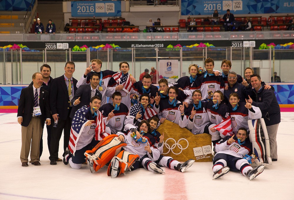 United States beat arch-rivals Canada to win men's ice hockey as Sweden secure women's title at Lillehammer 2016