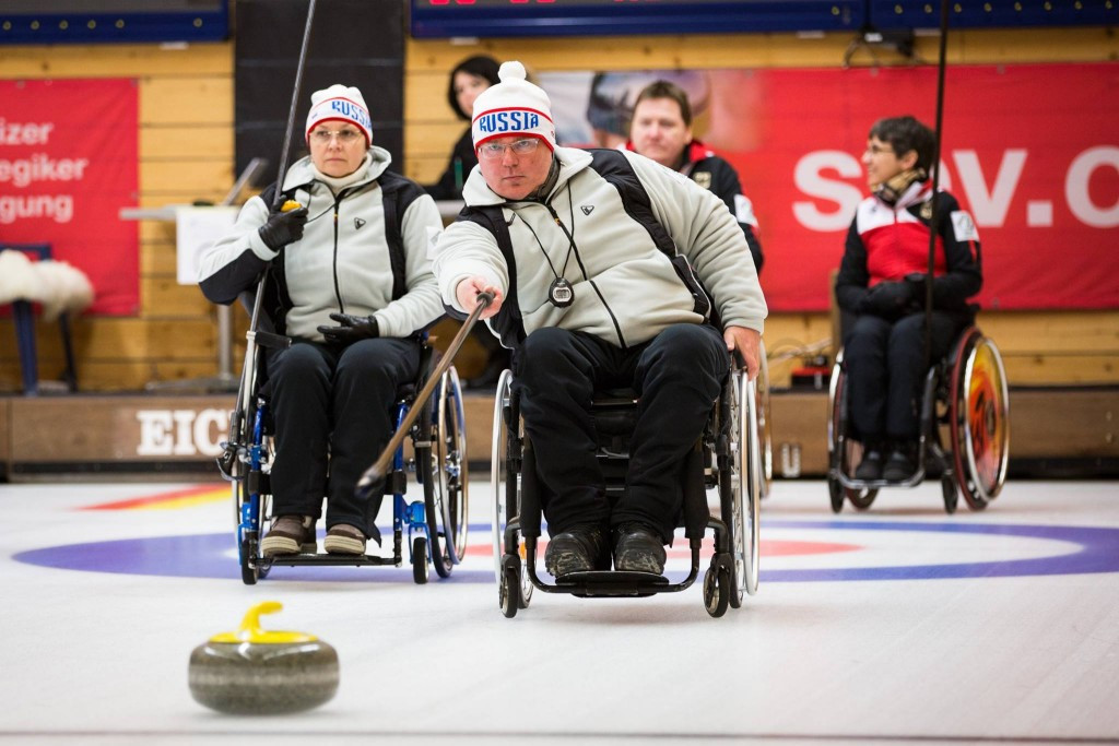 Defending champions Russia begin World Wheelchair Curling Championship with victory