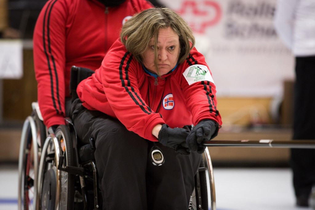 Norway make it three wins from three at World Wheelchair Curling Championships