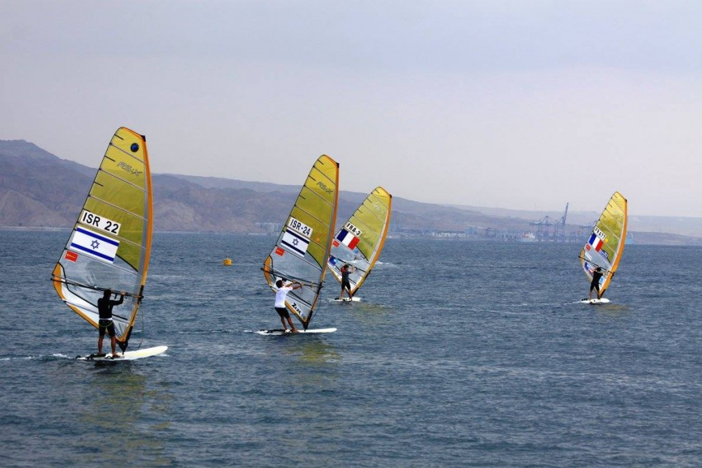 The World Windsurfing Championships began in Eilat ©World Windsurfing Championships/FacebookE
