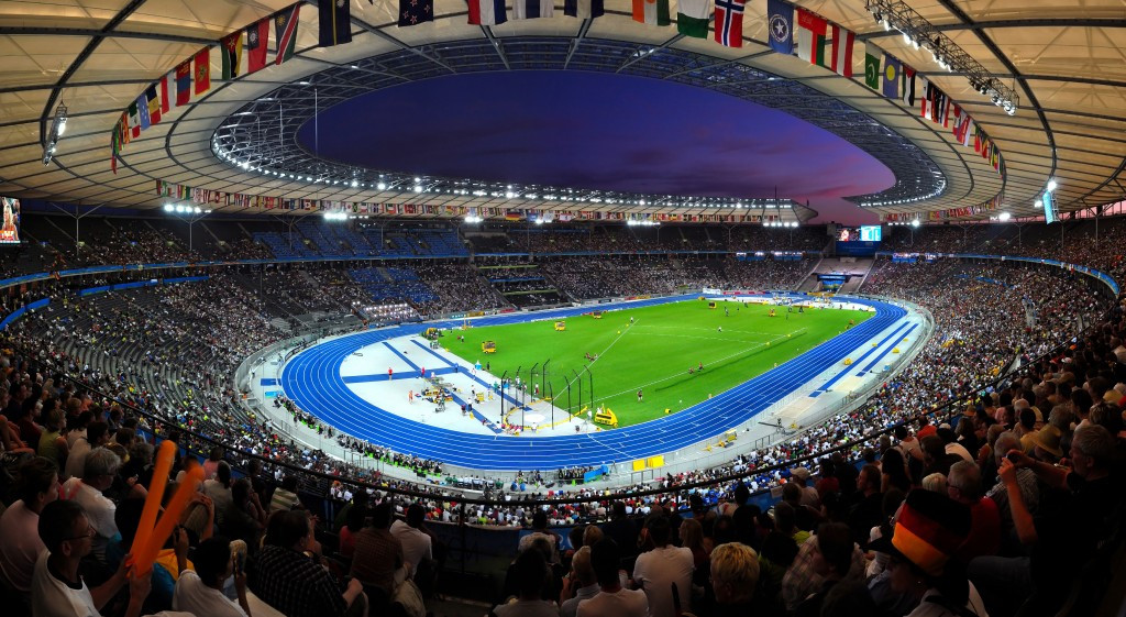 Athletics at the 2018 European Championships will take place in Olympic Stadium in Berlin, while all other events will take place in Glasgow ©Getty Images