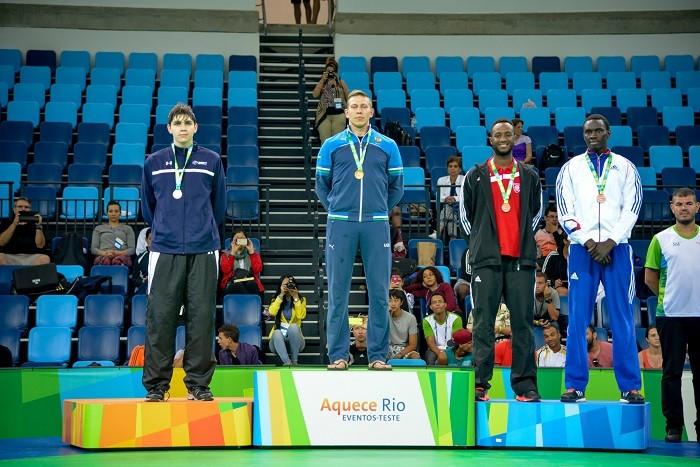 World champions Shokin and Hamada among victors at Rio 2016 taekwondo test event