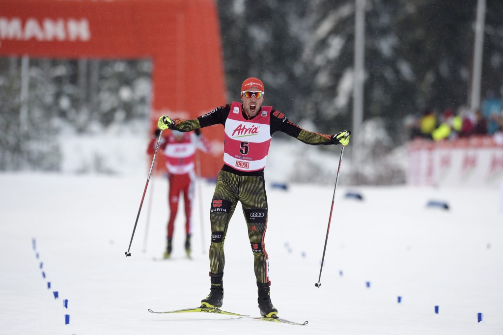 Rydzek victory means Watabe finishes second again at Nordic Combined World Cup