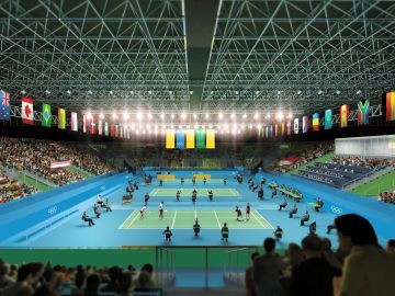 Badminton will be among the events where there will be no specific seating for spectators at Rio 2016 ©Rio 2016