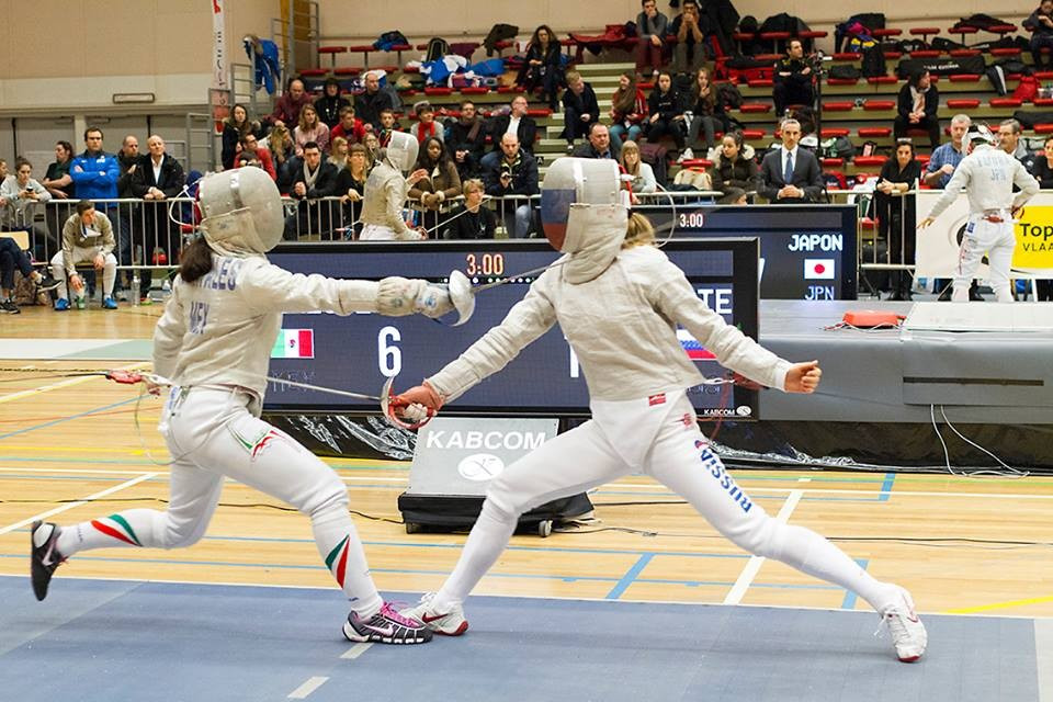The Rio 2016 women's sabre teams were decided after the event