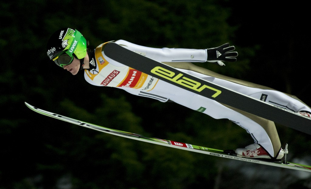 Peter Prevc could claim the men's World Cup title on Saturday