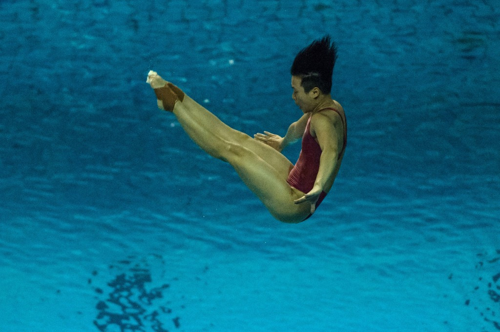 World champion Tingmao claims springboard gold at FINA Diving World Cup