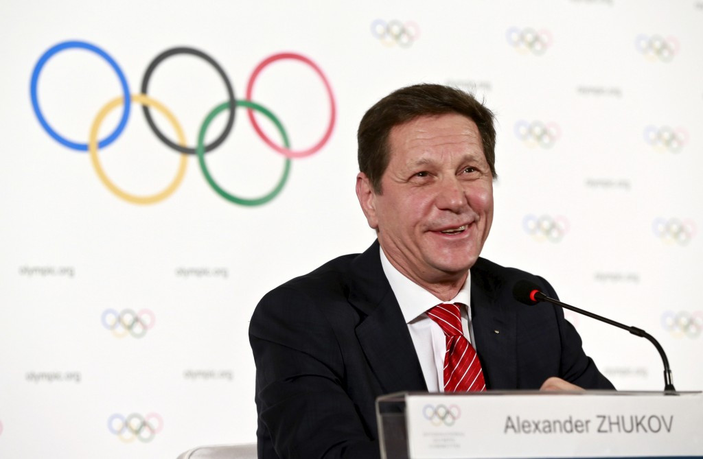 Russia's Alexander Zhukov has been appointed as the chairman of the IOC Coordination Commission for Beijing 2022 ©Getty Images