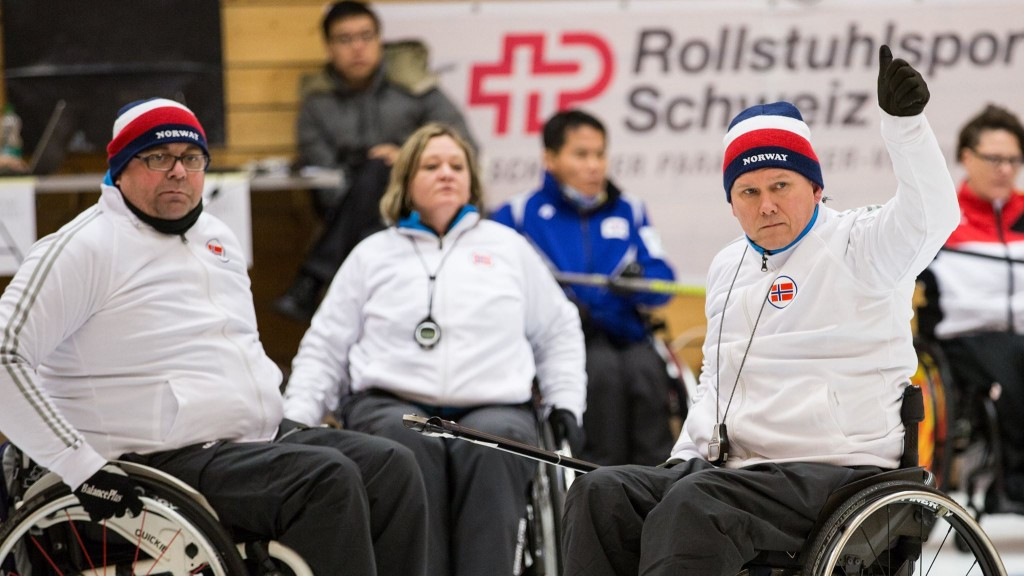 Norway continue 100 per cent record at World Wheelchair Curling Championships to close on semi-final spot