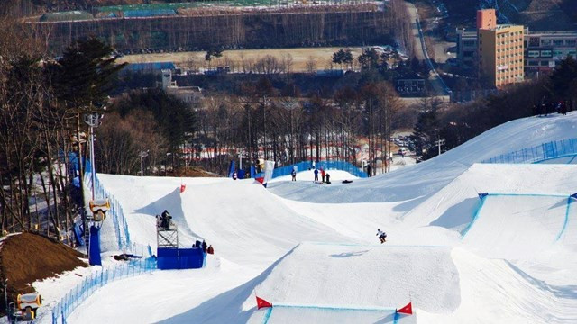 Canada's Christopher Robanske led snowboard cross qualification in Pyeongchang ©FIS