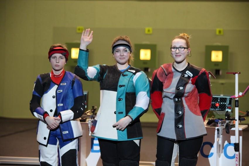 Russian junior 10m air rifle double at European Shooting Championships