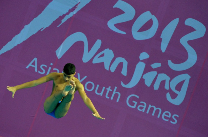 The 2013 Asian Youth Games were hosted by the Chinese city of Nanjing