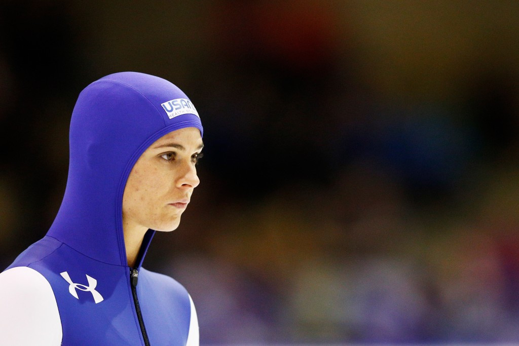 Brittany Bowe is hoping to capture consecutive women's crowns