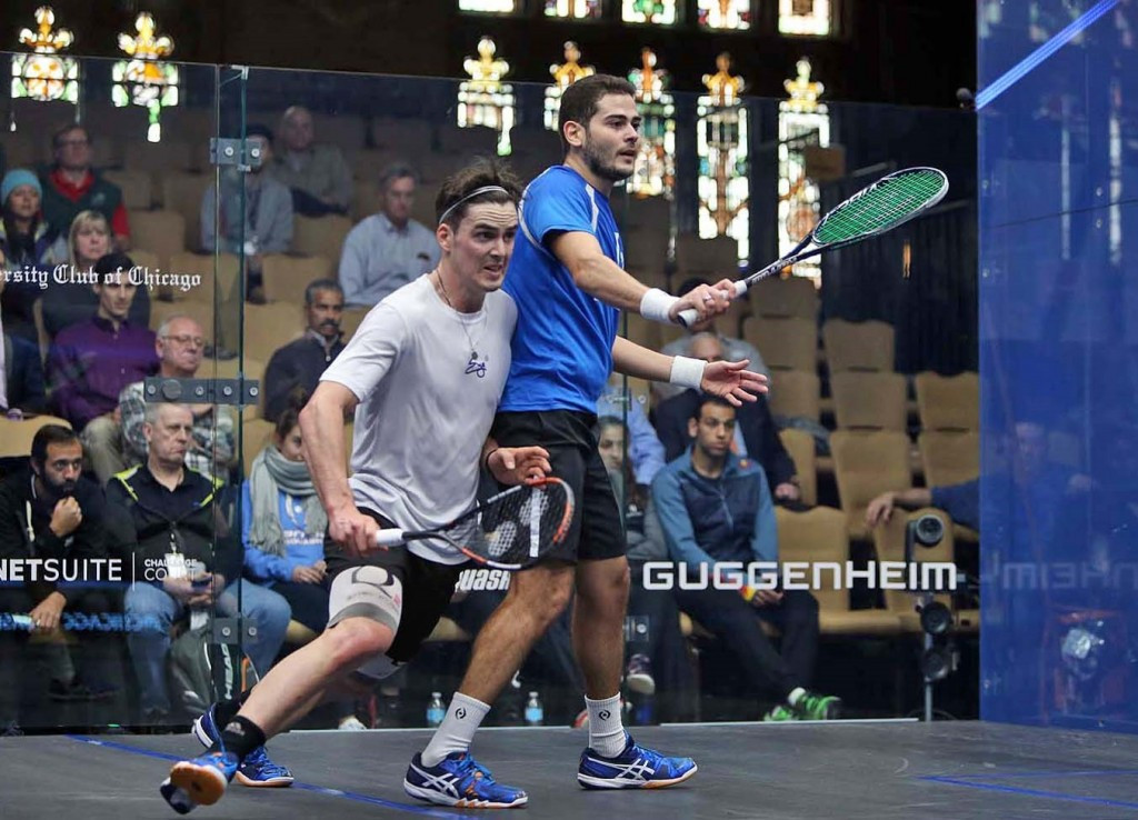 Gawad close to first round exit as Windy City Open begins