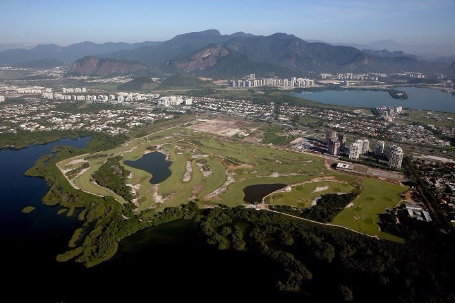 Leading Brazilian golfers are set to play on the Olympic course in Barra de Tijuca ©Getty Images