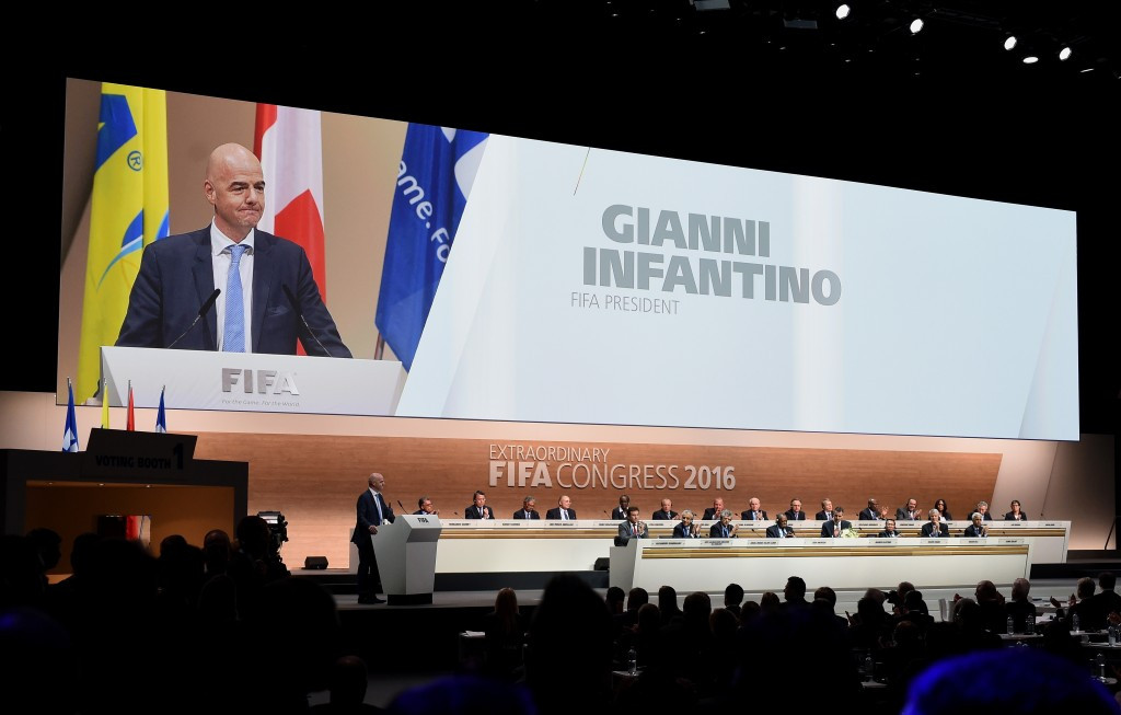 In pictures: 2016 FIFA Extraordinary Congress