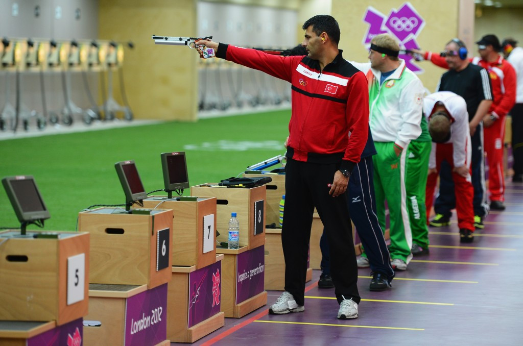 Yusuf Dikeç of Turkey, pictured during London 2012, won today at the European Championships ©Getty Images