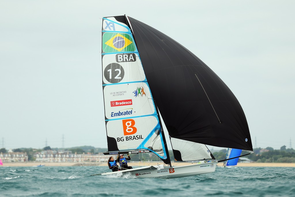 Brazilian sailor Martine Grael has criticised the state of the water on her home course ©Getty Images