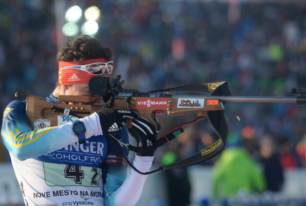 Ukrainian biathlete Artem Tyshchenko has become the latest athlete from his country to fail a doping test ©Getty Images