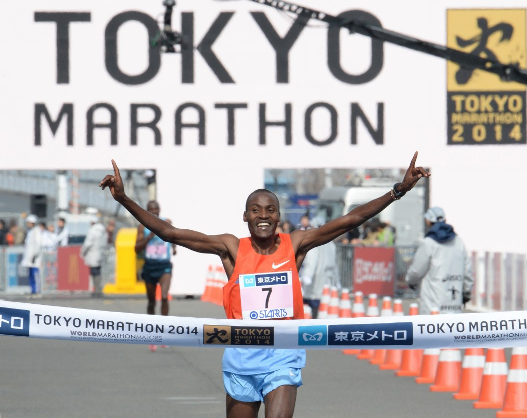 Dickson Chumba, winner in 2014, will hope to return to the top of the podium tomorrow