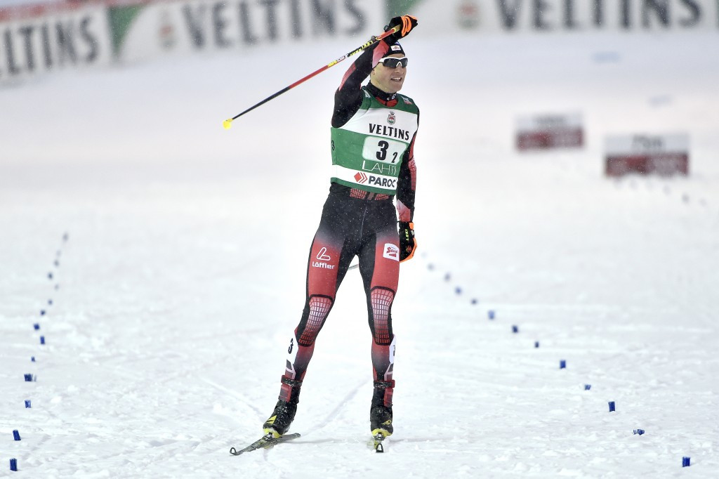 Gruber claims Nordic Combined World Cup title after overhauling Frenzel